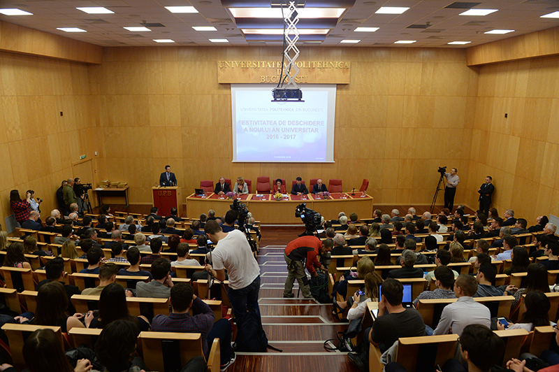 Opening of the New University Year 2017-2018